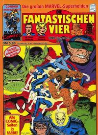 Cover Thumbnail for Die Fantastischen Vier (Condor, 1979 series) #33