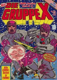 Cover Thumbnail for Die Gruppe X (Condor, 1985 series) #21