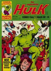 Cover Thumbnail for Der unglaubliche Hulk (Condor, 1980 series) #14