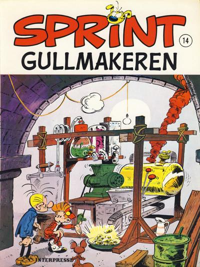 Cover for Sprint [Sprint & Co.] (1977 series) #14 - Gullmakeren