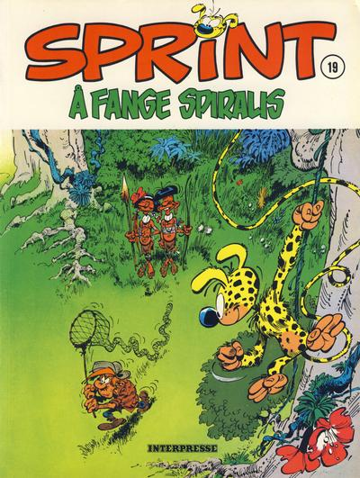 Cover for Sprint [Sprint & Co.] (Interpresse, 1977 series) #19 - Å fange Spiralis