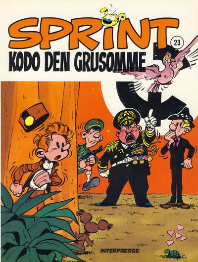 Cover for Sprint [Sprint & Co.] (Interpresse, 1977 series) #23 - Kodo den grusomme