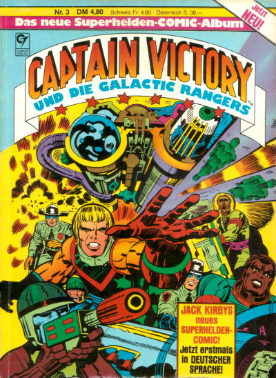 Cover for Captain Victory (Condor, 1983 series) #3