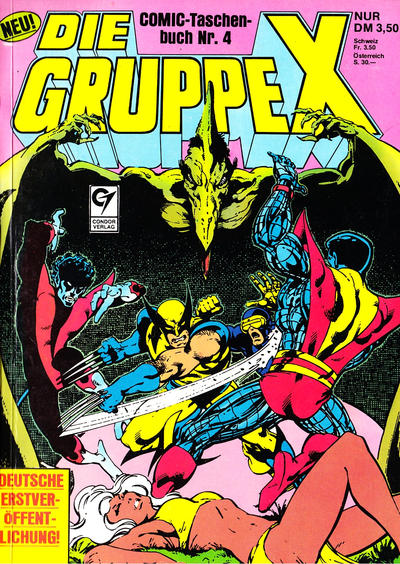 Cover for Die Gruppe X (Condor, 1985 series) #4