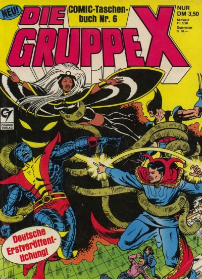 Cover for Die Gruppe X (Condor, 1985 series) #6