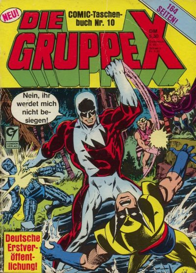 Cover for Die Gruppe X (Condor, 1985 series) #10
