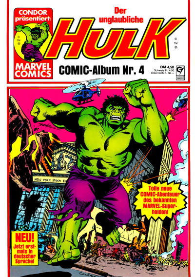 Cover for Hulk (Condor, 1979 series) #4