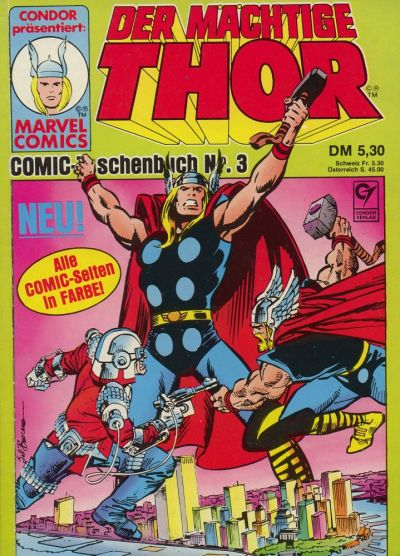Cover for Thor (1988 series) #3