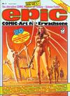 Cover for Epic (Condor, 1983 series) #3
