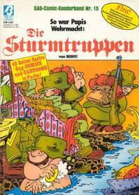 Cover Thumbnail for Die Sturmtruppen (Condor, 1978 series) #15