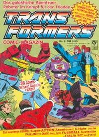 Cover for Transformers (Condor, 1989 series) #9