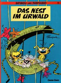 Cover Thumbnail for Spirou und Fantasio (Carlsen Comics [DE], 1981 series) #10 - Das Nest im Urwald