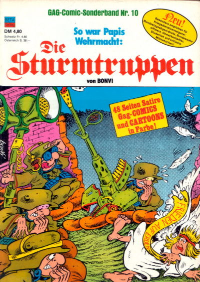 Cover for Die Sturmtruppen (Condor, 1978 series) #10