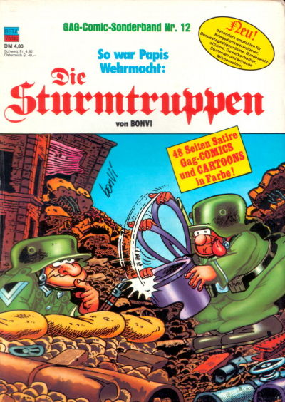 Cover for Die Sturmtruppen (Condor, 1978 series) #12