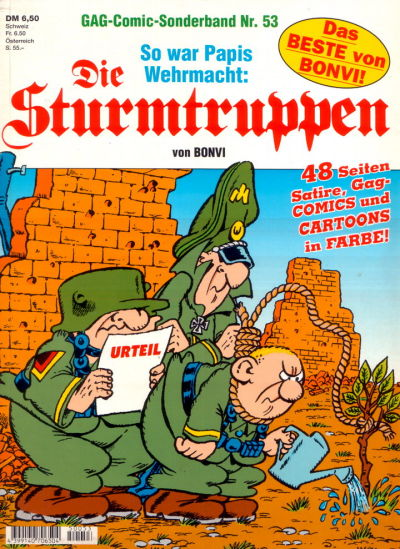Cover for Die Sturmtruppen (Condor, 1978 series) #53