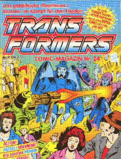 Cover for Transformers (1989 series) #24