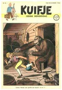 Cover Thumbnail for Kuifje (Le Lombard, 1946 series) #8/1946