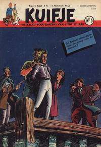 Cover Thumbnail for Kuifje (Le Lombard, 1946 series) #5/1952
