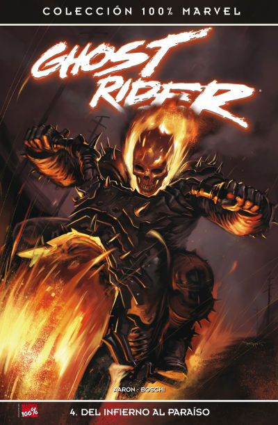 Cover for 100% Marvel: Ghost Rider (2007 series) #4