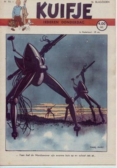 Cover for Kuifje (Le Lombard, 1946 series) #2/1947