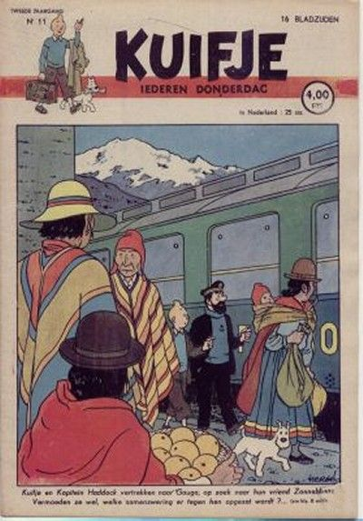 Cover for Kuifje (Le Lombard, 1946 series) #11/1947