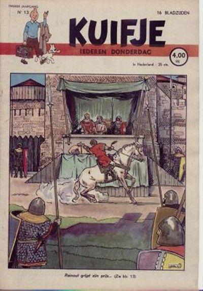 Cover for Kuifje (Le Lombard, 1946 series) #13/1947