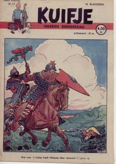 Cover for Kuifje (1946 series) #17/1947