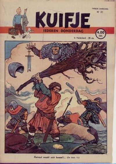 Cover for Kuifje (1946 series) #21/1947