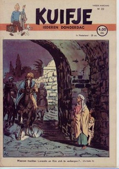 Cover for Kuifje (Le Lombard, 1946 series) #22/1947