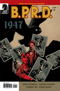 Cover Thumbnail for B.P.R.D.: 1947 (Dark Horse, 2009 series) #1