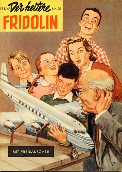 Cover for Der heitere Fridolin (1958 series) #26