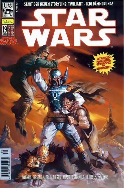 Cover for Star Wars (Dino Verlag, 1999 series) #19