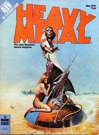 Cover Thumbnail for Heavy Metal Magazine (HM Communications, Inc., 1977 series) #v3#1 [Direct Sales]