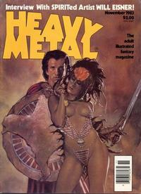Cover Thumbnail for Heavy Metal Magazine (HM Communications, Inc., 1977 series) #v7#8