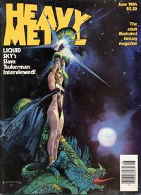 Cover Thumbnail for Heavy Metal Magazine (HM Communications, Inc., 1977 series) #v8#3