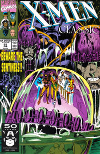 Cover Thumbnail for X-Men Classic (Marvel, 1990 series) #55 [Direct Edition]