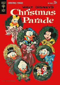 Cover Thumbnail for Walt Disney's Christmas Parade (Western, 1963 series) #1