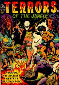 Cover Thumbnail for Terrors of the Jungle (Star Publications, 1952 series) #17