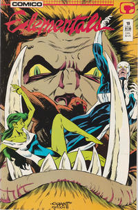 Cover Thumbnail for Elementals (Comico, 1984 series) #19