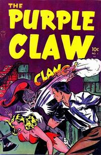 Cover Thumbnail for The Purple Claw (Toby, 1953 series) #1