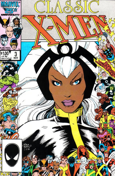 Cover for Classic X-Men (1986 series) #3 [Newsstand Edition]