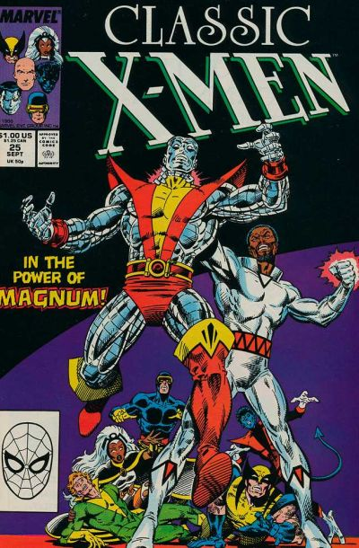 Cover for Classic X-Men (1986 series) #25 [Newsstand Edition]