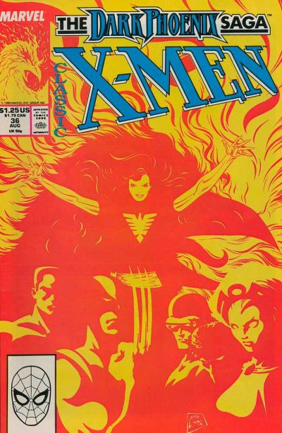 Cover for Classic X-Men (1986 series) #36 [Newsstand Edition]