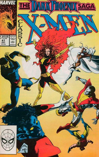 Cover for Classic X-Men (1986 series) #41