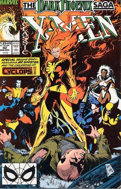 Cover for Classic X-Men (Marvel, 1986 series) #42 [Direct Edition]