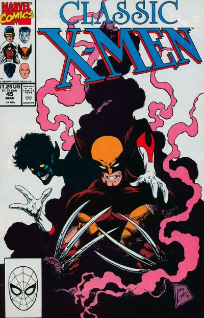 Cover for Classic X-Men (1986 series) #45
