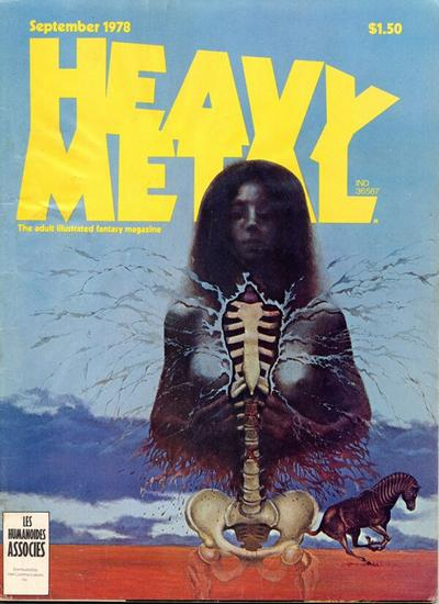 Cover for Heavy Metal Magazine (1977 series) #v2#5