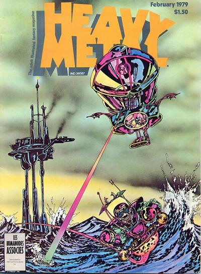 Cover for Heavy Metal Magazine (HM Communications, Inc., 1977 series) #v2#10