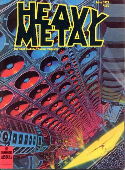 Cover for Heavy Metal Magazine (HM Communications, Inc., 1977 series) #v3#2 [Direct Sales]