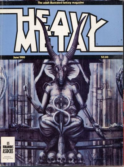 Cover for Heavy Metal Magazine (HM Communications, Inc., 1977 series) #v4#3 [Direct Sales]